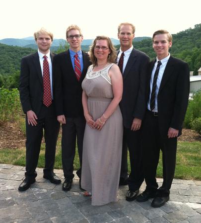 Kyle, Tyler, me, Greg and Ryan