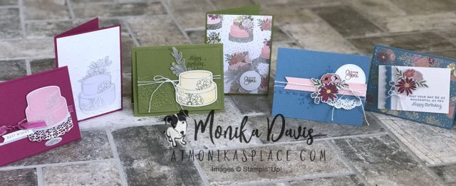Sweet Soiree Embellishment Kit cards